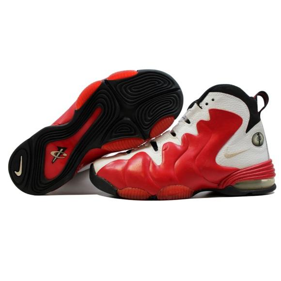 5d9c85b64b321 Nike Shoes | Air Penny 3 White Red New Rare | Poshmark